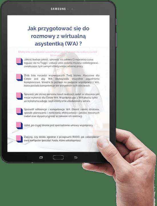 Jak przygotować się do rozmowy z wirtualną asystentką checklista